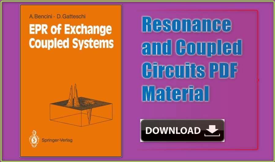 Resonance and Coupled Circuits