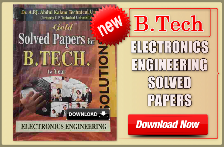 Electronics engineering solved papers on yearly basis PDF Download
